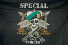 SPECIAL FORCES 3' X 5' FLAG (Sold by the piece)