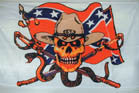 REBEL CONFEDERATE STATES (CSA) 3' X 5' FLAG (Sold by the piece)