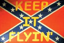 KEEP IT FLYING 3' X 5' FLAG (Sold by the piece) -* CLOSEOUT $2.50 EA