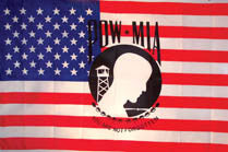 AMERICAN POW MIA 3' X 5' FLAG (Sold by the piece)