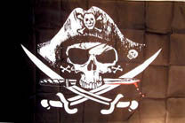 DEAD MANS PIRATES CHEST 3' X 5' FLAG (Sold by the piece)