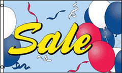 SALE BALLOONS 3' x 5' FLAG (Sold by the piece)