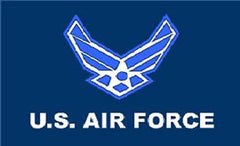NEW US AIR FORCE 3' x 5' FLAG Airforce military  (Sold by the piece )
