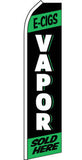 SUPER SWOOPER 15 FT E-CIG VAPOR FLAG  (Sold by the piece)