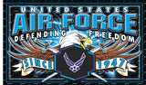 AIRFORCE STRIKE FORCE DELUXE 3 X 5 FLAG ( sold by the piece )