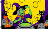 WITCHES BREW halloween  3 X 5 FLAG ( sold by the piece ) *- CLOSEOUT NOW $ 2.95 EA