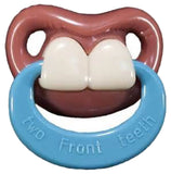 TWO FRONT TEETH WITH RING  BILLY BOB TODDLER PACIFIER ( sold by  the piece )