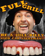 THE FULL GRILL BILLY WITH TABACCO STIAN BOB TEETH ( sold by the piece )