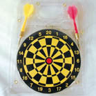 6 INCH DART BOARD (Sold by the dozen) -* CLOSEOUT NOW ONLY .50 CENTS EA