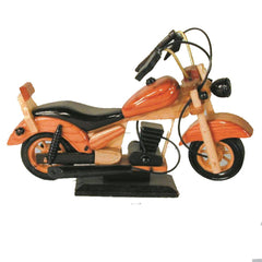 10 Inch Collectible Wooden Motorcycle (Sold by the piece) -* CLOSEOUT ONLY $8 EACH