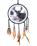 BIG BUCK 8 IN WAR SHIELD DREAM CATCHER ( sold by the piece )