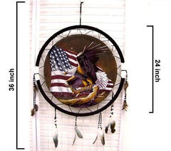 AMERICAN FLAG EAGLE JUMBO WAR SHIELD (Sold by the piece)