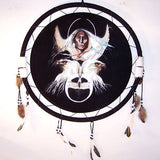 LARGE DOUBLE EAGLE WARRIOR JUMBO WAR SHIELD (Sold by the piece) -* CLOSEOUT NOW ONLY $ 7.50 EA