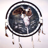 LARGE EAGLE ON SKULL JUMBO WAR SHIELD (Sold by the piece) -* CLOSEOUT ONLY 7.50 EA