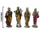 PEWTER JESUS FIGURES (Sold by the piece) -* CLOSEOUT ONLY 1.50 EA