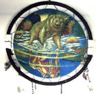 BEAR REFLECTION JUMBO WAR SHIELD (Sold by the piece)