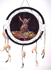 CHIEF ON HORSE JUMBO 20 inch WAR SHIELD (Sold by the piece) -* CLOSEOUT ONLY 5.00 EA