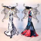 BUTTERFLY LADY DRESS JEWELRY RACK (Sold by the piece)-* CLOSEOUT ONLY 5.00 EA