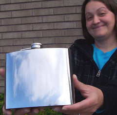 HUGE 32 OZ. FLASK (Sold by the piece)
