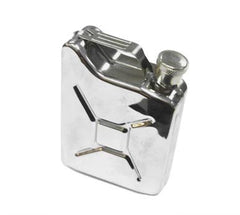 GAS CAN TANK STAINLESS FLASK (Sold by the piece) CLOSEOUT NOW $ 5 EA