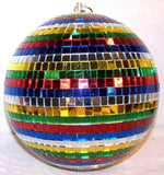 LARGE 16 INCH RAINBOW MIRROR BALL (Sold by the piece)