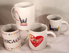 CHICAGO COFFEE CUP MUG (Sold by the piece OR DOZEN ) NOW ONLY 50 CENT EACH
