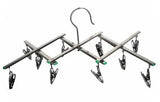 EXPANDABLE 10 METAL CLIP HANGING DISPLAY RACK (Sold by the piece) *- CLOSEOUT NOW $ 10 EA