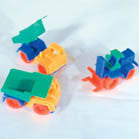 MINI PLASTIC CONSTRUCTION VEHICLES (Sold by the dozen)