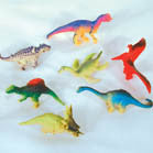 3 INCH DINOSAUR ASSORTMENT (Sold by the dozen)