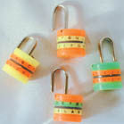 PLASTIC COMBINATION LOCKS (Sold by the gross 144 PC) CLOSEOUT NOW ONLY 10 CENTS EA