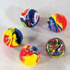 MINI MARBLE HI BOUNCE BALLS (Sold by the dozen)