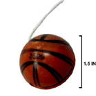 BASKETBALL YO YO'S (Sold by the dozen) -* CLOSEOUT NOW 10 CENTS EA