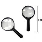 BLACK HANDLE MAGNIFYING GLASS (Sold by the dozen)