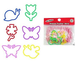 SILLY INSECT RUBBER BANDS MULTICOLOR (Sold by the dozen packs)