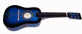 BLUE COLOR WOOD 24 INCH WOODEN GUITAR (sold by the piece )