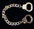HANDCUFF 7 INCH METAL BRACELETS (Sold by the piece or dozen)