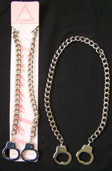 HANDCUFF 18 inch METAL NECKLACES  (Sold by the piece or  dozen)