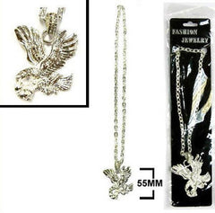 HEAVY BLING BLING EAGLE NECKLACES (Sold by the piece or  dozen) CLOSEOUT $ 1.50 EA