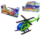 DIECAST METAL HELICOPTER ( Sold by the dozen)