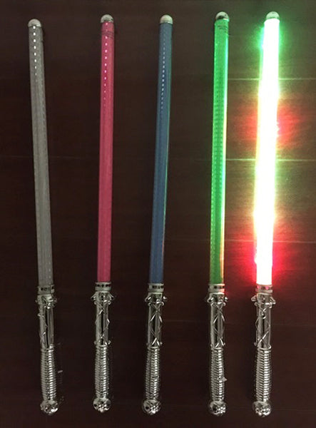 Colored Checkered Reflection Led Sabor Swords Sold By