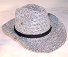WOVEN HAT WITH SNAP UP SIDES (Sold by the dozen) *- CLOSEOUT NOW $ 3 EA