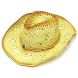 CAMEL TWO TONE WOVEN COWBOY HAT (Sold by the piece) *- CLOSEOUT NOW $ 6.50 EA