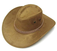 CAMEL ROPER COWBOY HAT (Sold by the piece) *- CLOSEOUT NOW ONLY $ 2.50 EA