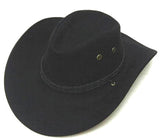 BLACK ROPER COWBOY HAT (Sold by the piece) *- CLOSEOUT $ 2.50 EA