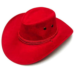RED ROPER COWBOY HAT (Sold by the piece) *- CLOSEOUT $ 2.50 EA