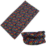 PEACE SIGN MULTI FUNCTION SEAMLESS BANDANA WRAP ( sold by the piece or dozen )