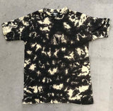 CAMOUFLAGE BLOTCHED  TIE DYED TEE SHIRT ( sold by the piece ) -* CLOSEOUT 2.95 EA-- MEDIUIM SIZE ONLY