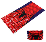 SPIDER & WEB MULTI FUNCTION SEAMLESS BANDANA WRAP ( sold by the piece or dozen )