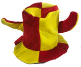 JESTER PLUSH PARTY CARNIVAL HAT (Sold by the piece) *- CLOSEOUT $2 EACH