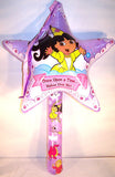 36 INCH INFLATEABLE DORA PRINCESS WANDS (Sold by the dozen)
